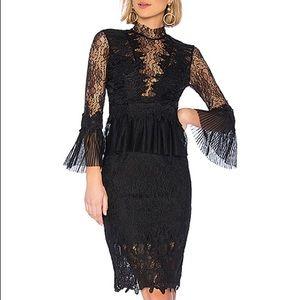 Revolve Bardot Frankie Lace Dress